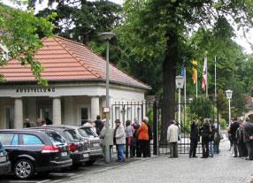 Pankower Machthaber - Der Majakowskiring und das Schloss Schönhausen nach 1945  Ausstellungskonzeption und -umsetzung der Dauerausstellung in den Torhäusern Niederschönhausen