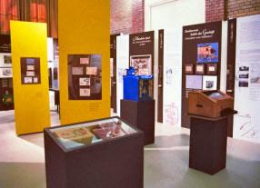 Hin und weg - Postgeschichten aus dem Prenzlauer Berg, Ausstellung, Geschichten und Aktionen für Besucher
