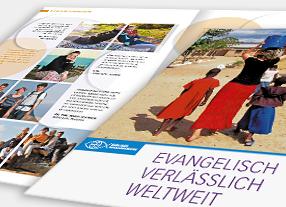 Entwicklung Imagebroschüre Berliner Missionswerk - Kommunikationsagentur durchgedacht in Berlin