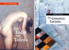 Buchcovergestaltungen, Gestaltung von Buchtiteln, Gestaltung Buchcover - Kommunikationsagentur durchgedacht in Berlin
