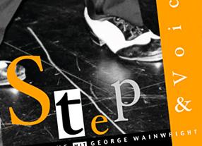 CD-Covergestaltung Step & Voice durch Kommunikationsagentur durchgedacht Berlin - Covergestaltungen für Kunst- und Musikbranche für unterschiedliche Medien