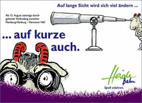 Entwicklung Kommunikationskampagne Heidebahn in Niedersachsen