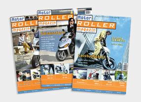 Special-Interest Magazin Motorroller Gestaltung und Umsetzung von Magazinen und Publikationen