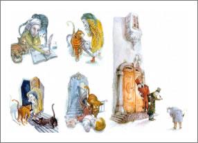 Buchillustrationen, Kinderbuchillustrationen, Buchcoverillustration, durchgedacht, Kommunikationsagentur in Berlin