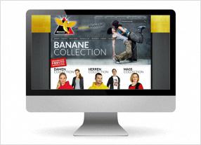 Entwicklung Onlineshop für Modeunternehmen, Webdesign und Text, durchgedacht Kommunikationsagentur in Berlin