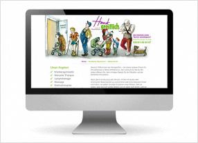 Homepageerstellung, Webdesign für ein Unternehmen aus dem Gesundheitsbereich, durchgedacht Kommunikationsagentur in Berlin