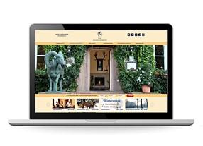 Designentwicklung Internetauftritt Hotel Doellnsee in der Schorfheide