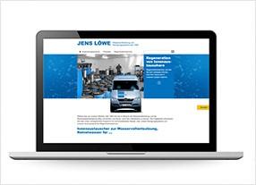 Homepageerstellung, Webdesign für ein Unternehmen aus der Reinstwasserherstellung,durchgedacht Kommunikationsagentur in Berlin