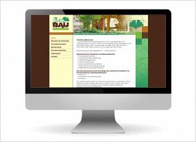 Homepageerstellung, Webdesign, Webtexte für ein Unternehmen aus dem Naturbaubereich,durchgedacht Kommunikationsagentur in Berlin